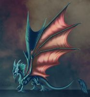Ice Dragon by Alkharia