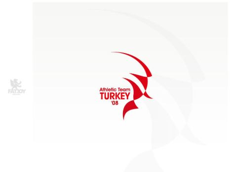 ATHLETIC TEAM TURKEY - logo by fat3oy