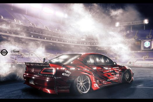 Nissan Silvia S15 // Red Hot Tire Wrecker by KlausAuto