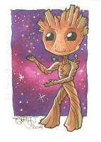 Chibi Groot by TLSeely