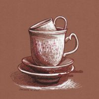 A cup of... by dasidaria-art