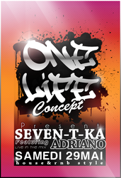 One life Flyer by Adriano09