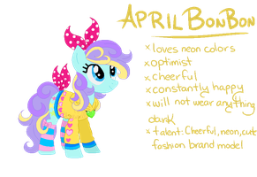 CLOSED POINT AUCTION - Colorful Outfit Pony by Arxielle
