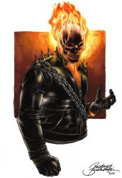 Ghost Rider Commission by Buchemi