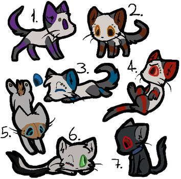 More Portal inspired adopts (CLOSED) by ScribblyFandoms7