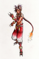 Human Red XIII by Naerko