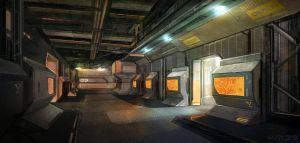 Military Bunker by VincentiusMatthew