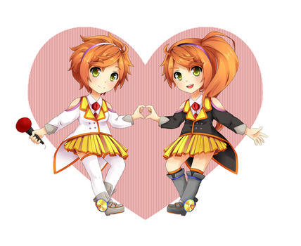 Anon and Kanon by Piss-kun