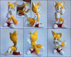 Handmade: Tails sculpture by vitav