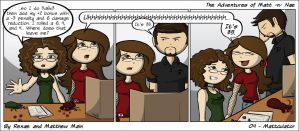 Adventures of Matt -n- Nae #4 - Mattculator by TheEvilNae