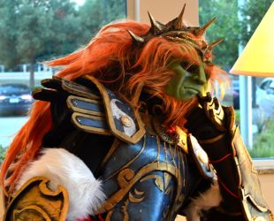 Ganondorf in thought by jaredjlee