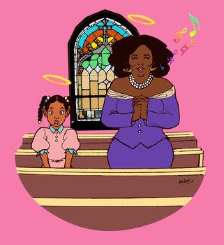 FIVERR: Church girls by AJthe90skid