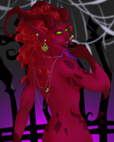 Trick or Treat:  Myrenth - Demoness by MischiArt