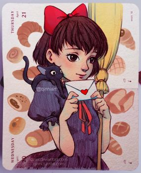 Kiki's Love Letter by Qinni