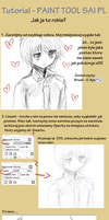 Paint Tool SAI TUTORIAL PL v2 - Lineart and Color by Toushiirou