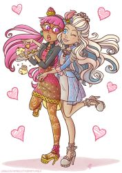 Candy witch and princess charming by Liralicia