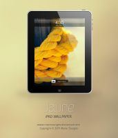 Jaune for iPad by mariesturges