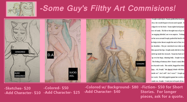 Commission Prices (CENSORED) by someguy1294
