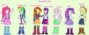 Equestria Girls by Kaeru456