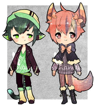 Collab Adopts with Kunamei [OPEN] by Reikeii