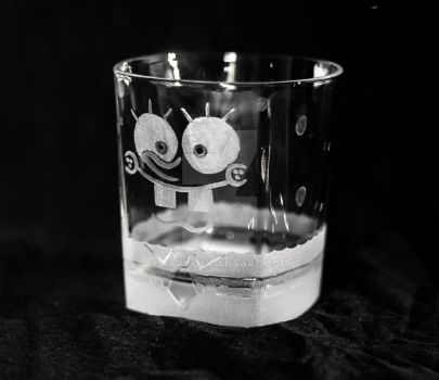 Spongebob Squarepants Whisky glass