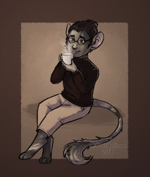 Art Fight 2018 - Coffee Mouse by CircusBalloon