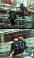 ASSASSIN'S CREED BROTHERHOOD RETARDED GUARDS by narufag