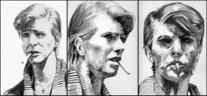 Bowie - old sketches by KaileenaFarah