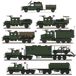 Bugout Truck List by Sgt-Turbo