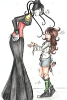 Nancy and Heartbreakerwoman by MikuParanormal