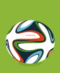 FREE Animated WorldCup Brasil 2014 Ball Icon by MarinaD