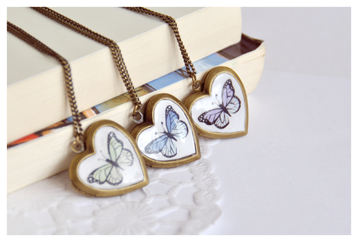Butterfly Locket Collection by Leviana