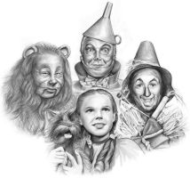 Wizard of Oz by gregchapin