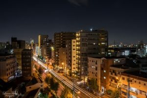 streets of Osaka by LunaFeles