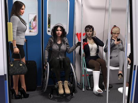 Subway ride by rizzo-cast