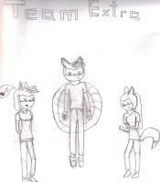 Team Extra Covershot by Animorphs007