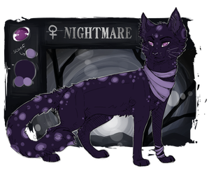Nightmare | Reference Sheet by Foxface-x3