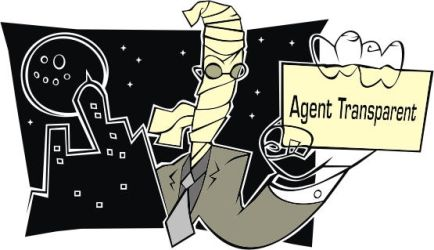 Agent Transparent by doncroswhite