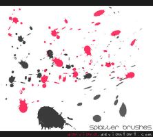 Splatter Brushes 2 by darviana