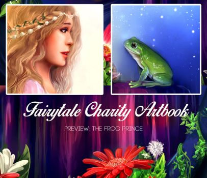 Fairytale Charity Artbook Preview by E-tane