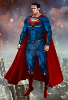 Henry Cavill-Superman 2015 by hamletroman