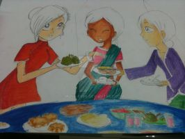 Malaysian Cultures WIP by Musa-Eyre