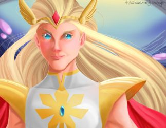 She-Ra by MirrorandImage