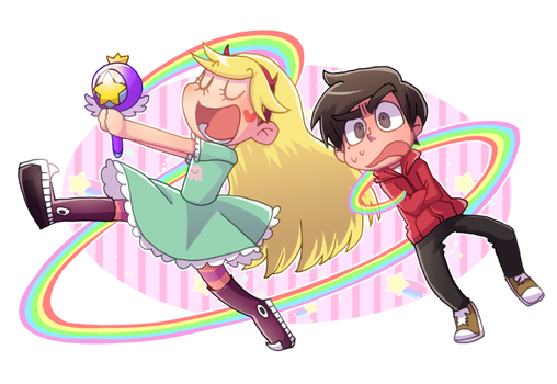 Star vs. the Forces of Evil by marsbarrl