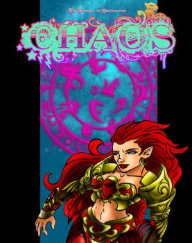 Evalas - Chaos Doodle by Fanglicious