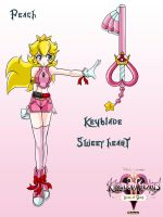 khdoc peach keyblade by mauroz