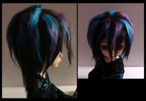 New Crazy Hujoo Wig by Psychogunfighter