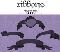 Ribbons PS brush by DFT-stock