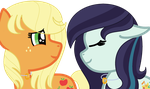 MLP NEXT GEN Parents- The Farmer and The Popstar by SapphireFeatherdust