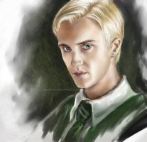 Tom Felton.Draco Painting by nRoulinsou